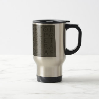 Sator Square Travel Mug