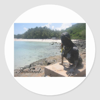 Sattahip, Thailand 3 Round Sticker