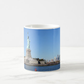 Satue Of Liberty, New York City Magic Mug