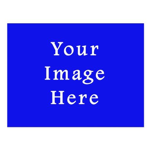 Saturated Blue Hanukkah Chanukah Hanukah Template Post Card