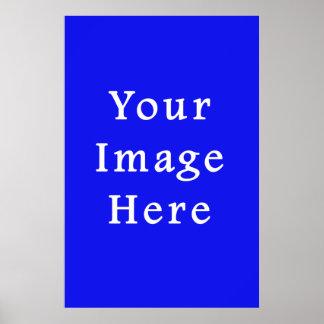Saturated Blue Hanukkah Chanukah Hanukah Template Print