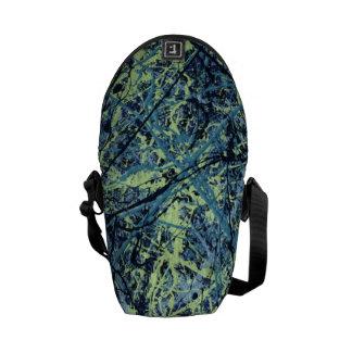 SATURATION (an abstract art design) ~ Commuter Bags