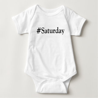 #Saturday Day of the Week Tshirts