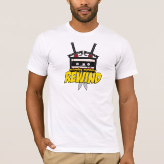 Saturday Morning Rewind (Cartoon Podcast/Site) T-Shirt