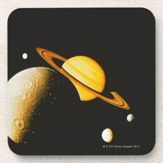 Saturn and Her Moons Coaster