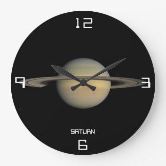 Saturn Astronomical Wall Clock
