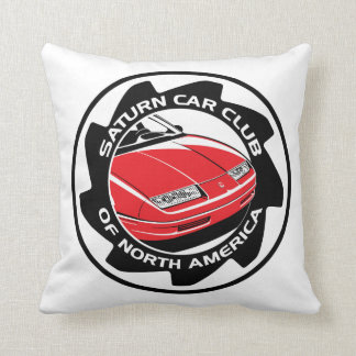 Saturn Car Club 16 inch Square Pillow