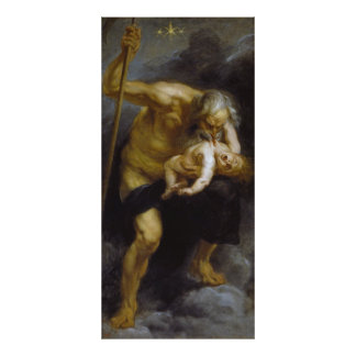 Saturn Devours One of His Sons by Peter P Ruebens Poster