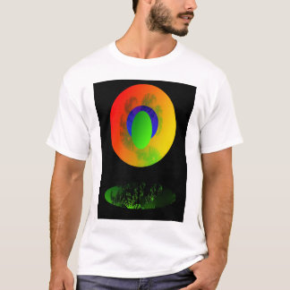 Saturn -  Digital Art T-Shirt