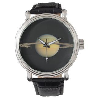 Saturn during Equinox Wristwatch