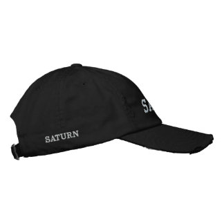 SATURN EMBROIDERED HAT
