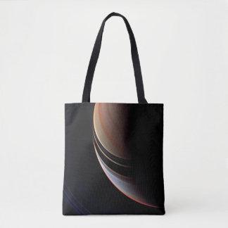 Saturn - False Color Enhancement Tote Bag