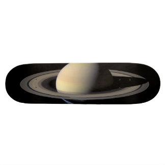 Saturn from Cassini 21.6 Cm Skateboard Deck