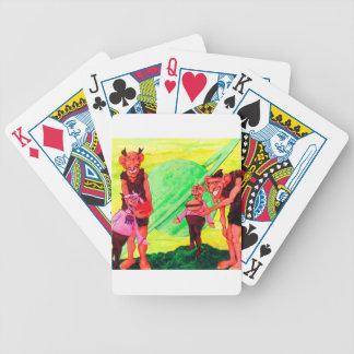 Saturn Giants Poker Deck