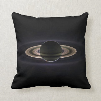 Saturn Image Taken by Cassini Spacecraft Cushion
