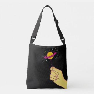 Saturn Lollipop Balloon Crossbody Bag