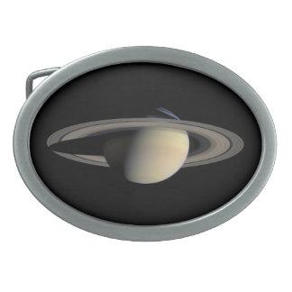 Saturn Oval Belt Buckle