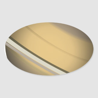 Saturn Oval Sticker