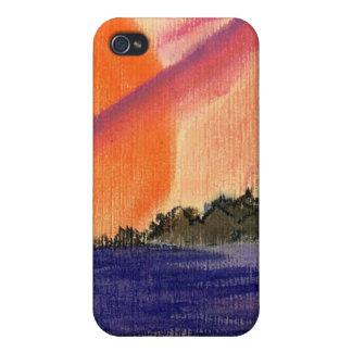 Saturn Sun iPhone 4/4S Case