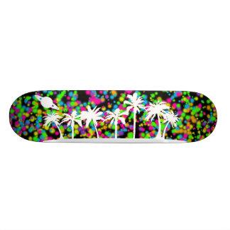 Saturn Sunset Skateboard Mini