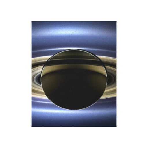 Saturn - The Day the Earth Smiled Canvas Prints