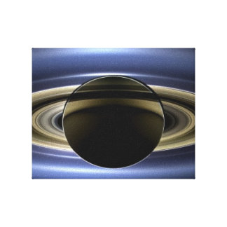 Saturn - The Day the Earth Smiled Gallery Wrapped Canvas