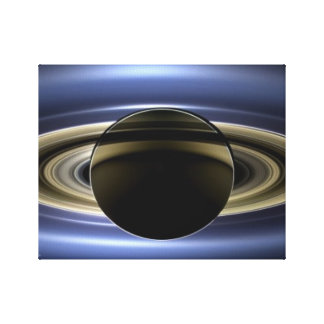 Saturn - The Day the Earth Smiled Stretched Canvas Prints