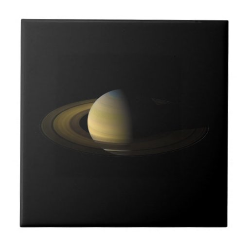 Saturn the Sixth Planet from the Sun Tiles