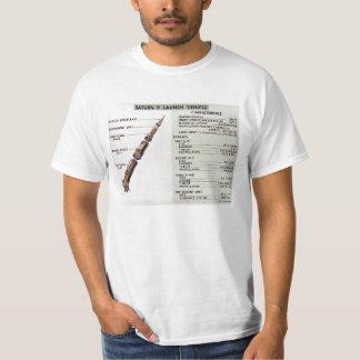 Saturn V diagram T-Shirt