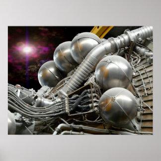 Saturn V Engine poster