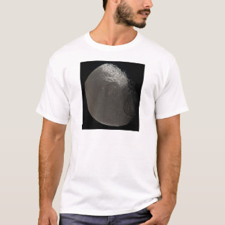 Saturn's 3rd Largest Moon Iapetus Taken by Cassini T-Shirt