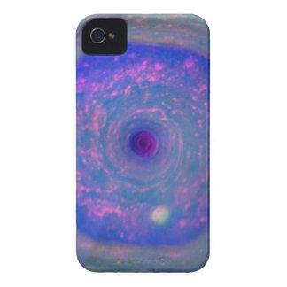Saturn's Hexagonal Storm iPhone 4 Case-Mate Case