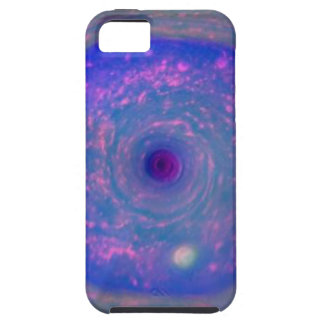 Saturn's Hexagonal Storm iPhone 5 Cover