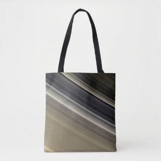 Saturn's Rings - Natural Color Tote Bag