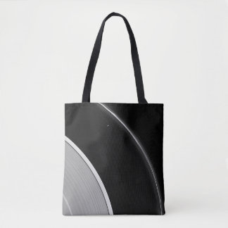 Saturn's Rings - Prometheus and the F Ring Tote Bag