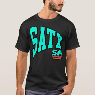 SATX POR VIDA City Pennant Fiesta Colorway T-Shirt