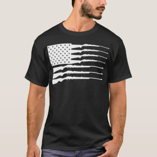 SATX POR VIDA Rifle Flag T-Shirt
