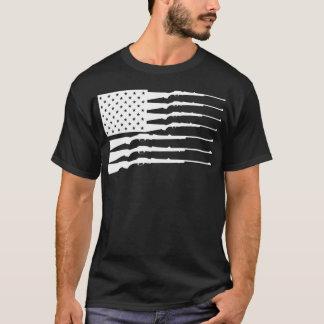 SATX POR VIDA Rifle Flag T-Shirt