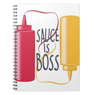 Sauce Is Boss Notebook