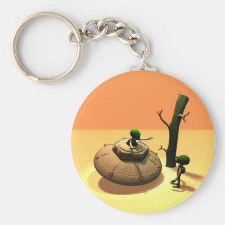 Saucer Buddies 2 Keychain