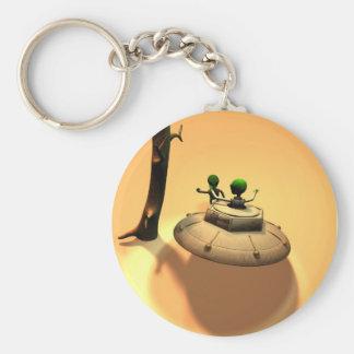Saucer Buddies Keychain