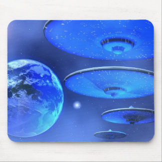 SAUCERS  MOUSEPAD