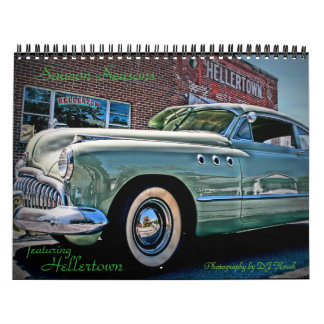 Saucon Seasons featuring Hellertown Pa. Wall Calendar