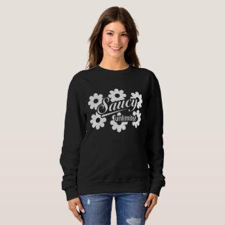 Saucy Unlimited Flower Sweatshirt