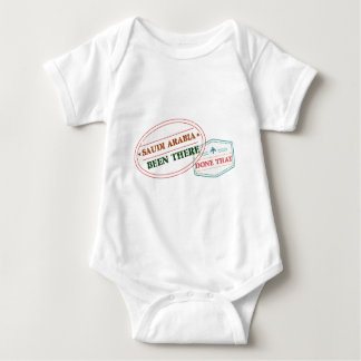 Saudi Arabia Been There Done That Baby Bodysuit