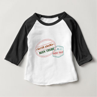 Saudi Arabia Been There Done That Baby T-Shirt