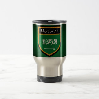 Saudi Arabia Flag Travel Mug