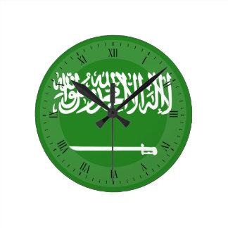 Saudi Arabia Flag Wallclocks