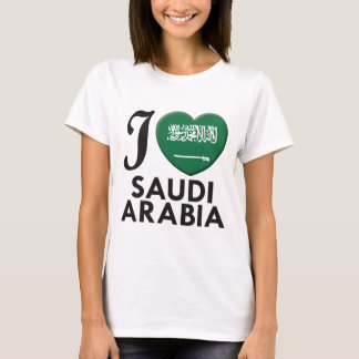 Saudi Arabia Love T-Shirt
