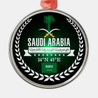 Saudi Arabia Metal Ornament